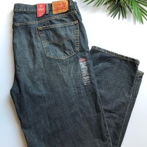 Levi's Mens Relaxed Fit Big & Tall Jeans Size 50